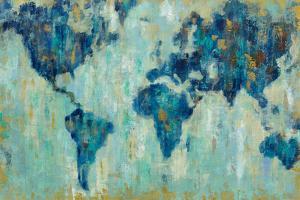 Map of the World by Silvia Vassileva