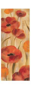 May Floral Panel I by Silvia Vassileva