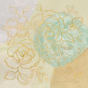 Mid Mod Sophisticated Floral II by Silvia Vassileva