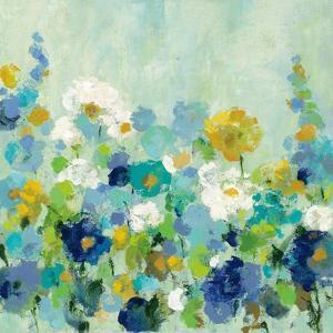 Midsummer Garden White Flowers by Silvia Vassileva