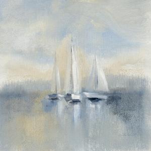 Morning Sail I Blue by Silvia Vassileva