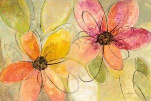 Neon Floral V2 by Silvia Vassileva