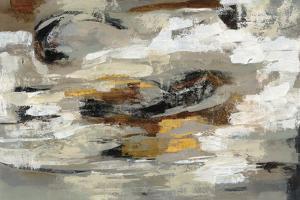 Neutral Abstract Gray by Silvia Vassileva