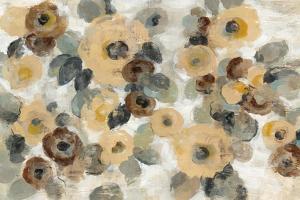 Neutral Floral Beige I by Silvia Vassileva