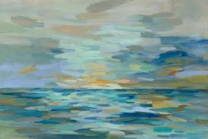 Pastel Blue Sea by Silvia Vassileva