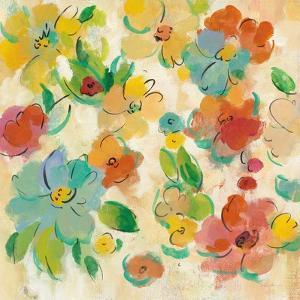 Playful Floral Trio II by Silvia Vassileva