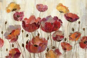 Poppies in the Rain by Silvia Vassileva