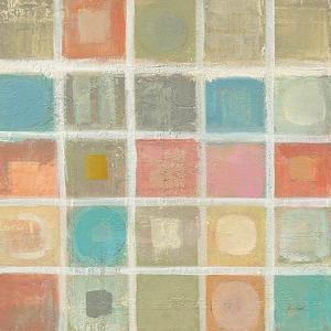 Sea Glass Mosaic Tile I by Silvia Vassileva