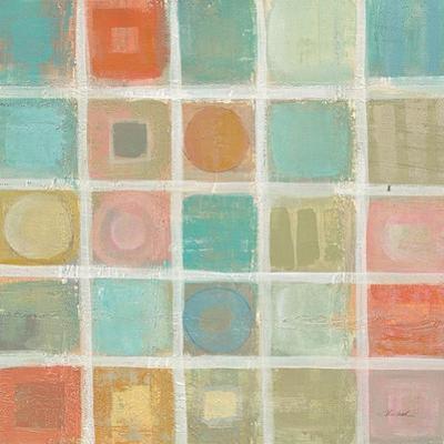 Sea Glass Mosaic Tile II by Silvia Vassileva