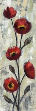 Simple Red Floral II by Silvia Vassileva