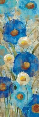 Sunkissed Blue and White Flowers II by Silvia Vassileva