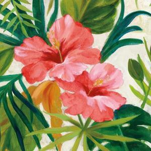 Tropical Jewels II v2 Pink Crop by Silvia Vassileva