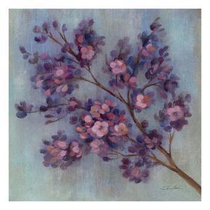 Twilight Cherry Blossoms II by Silvia Vassileva