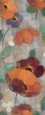 Urban Floral Panel II by Silvia Vassileva