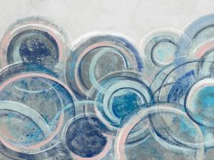 Variation Blue Grey Pink Crop by Silvia Vassileva