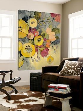 Yellow Floral Duo I by Silvia Vassileva