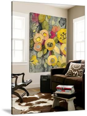 Yellow Floral Duo II by Silvia Vassileva