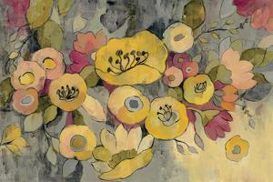 Yellow Floral Duo III by Silvia Vassileva