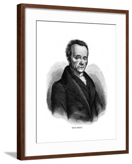 Silvio Pellico--Framed Giclee Print
