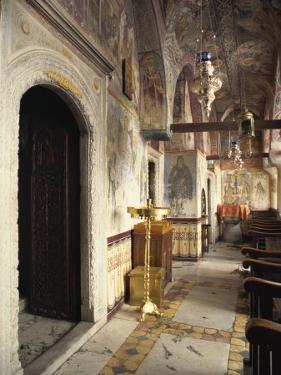 Church, Monastery of St. John, Patmos, Dodecanese, Greek Islands, Greece, Europe by Simanor Eitan