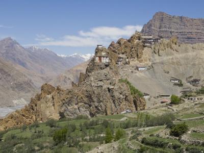 Dhankar Monastery, Spiti, Himachal Pradesh, India by Simanor Eitan