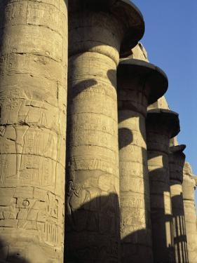 Hypostyle Hall, Great Temple of Amun, Karnak, Thebes, UNESCO World Heritage Site, Egypt by Simanor Eitan