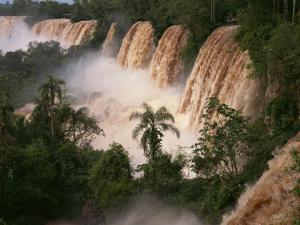 Iguassu Falls, UNESCO World Heritage Site, Misiones Region, Argentina, South America by Simanor Eitan