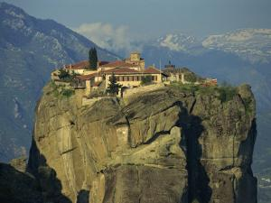 Monastery of the Holy Trinity, Meteora, UNESCO World Heritage Site, Greece, Europe by Simanor Eitan
