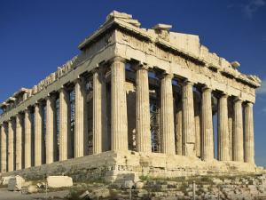 Parthenon, the Acropolis, UNESCO World Heritage Site, Athens, Greece, Europe by Simanor Eitan