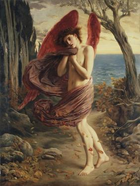 Love in Autumn by Simeon Solomon