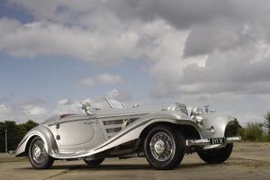 1937 Mercedes Benz 540 k special roadster by Simon Clay
