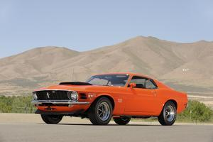 Ford Mustang Boss 429 1970 by Simon Clay