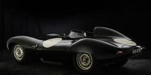 Jaguar D type 1956 by Simon Clay