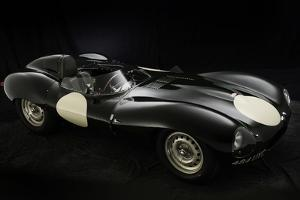Jaguar D type 1956 by Simon Clay