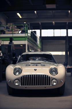 Siata Mille Miglia by Touring 1952 by Simon Clay