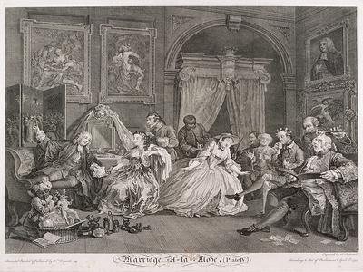 Marriage a La Mode, 1745, Plate IV