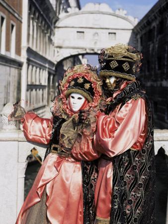 Carnival Costumes, Venice, Veneto, Italy