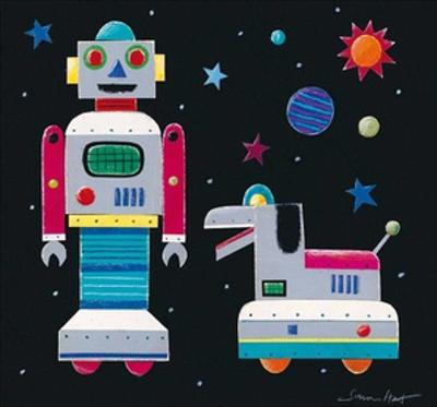 A Robot & His Dog by Simon Hart