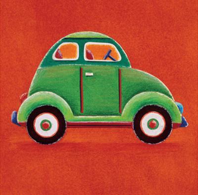 Green Car by Simon Hart