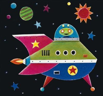 Spaceship 3 by Simon Hart