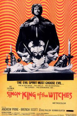 Simon, King of the Witches, Andrew Prine, 1971