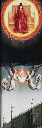 St Bertin's Soul Rising to Heaven, Fragment of St Bertin Altarpiece, Ca 1459