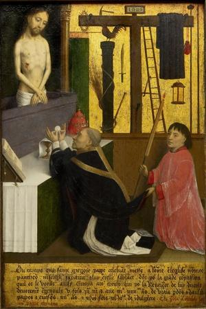 The Mass of Saint Gregory, Ca 1460