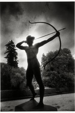 Bronze Archer, Sanssouci Park, Potsdam, Germany by Simon Marsden