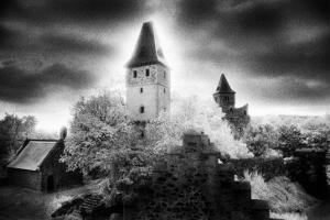 Castle Frankenstein, the Odenwald Valley, Germany by Simon Marsden