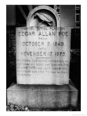 Edgar Allan Poe's Grave, Baltimore, USA by Simon Marsden