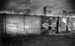 Section of the Berlin Wall by Simon Marsden