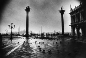 The Columns of St Mark and St Theodore, Piazzetta San Marco by Simon Marsden