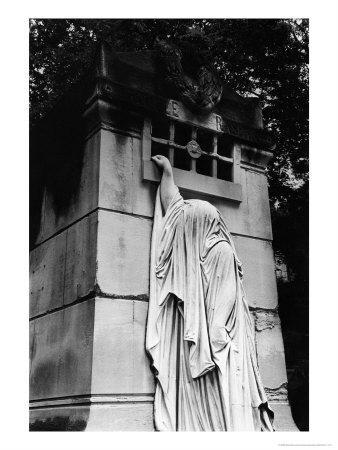 Tomb at Pere Lachaise Cemetery, Paris