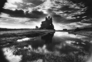 Whitby Abbey, Yorkshire, England by Simon Marsden